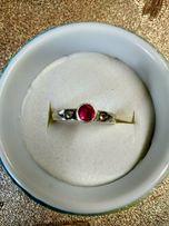 Кольцо СССР серебро