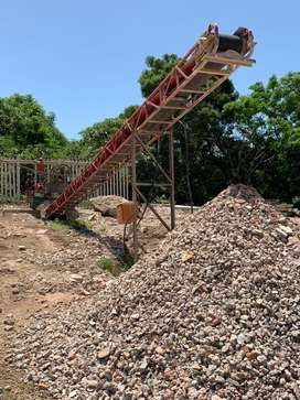 Sand Screen Crusher Conveyor recycling plant