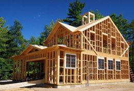 Будівництво каркасних будинків, строительство каркасного дома