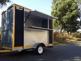MOBILE KITCHEN / FOOD TRAILER.