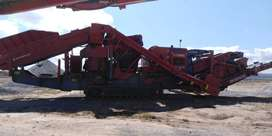 Used 2012 Finlay C1540RS Mobile Cone Crusher With Hanging Screen