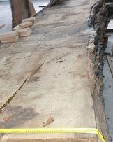 Drzewo,stół, dąb, lity stół,monolit,live edge wood,oak,blat drewniany