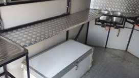 Mobile Kitchen Trailer.Fully equipped kitchen.