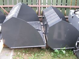 Łyżki od materiałów lekkich 0,9 m; 1,1 m; 1,2 m;