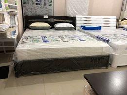 Кровать с подъёмным механизмом (рамой) 160х200, дерево - бук