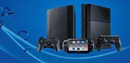Ремонт игровых приставок Sony PlayStation PS4 PS3 PS Vita PSP