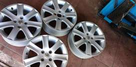 Used 16 inch Peugeot rims for sale.