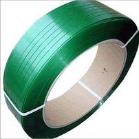 Taśma PET poliestrowa zielona do spinania palet