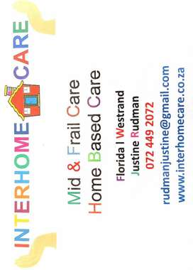 Frail Care, Home Based, Dementia Care, Day Care