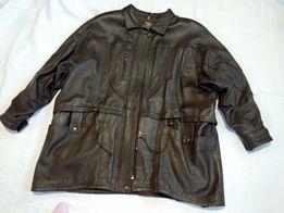 Куртка женская кожаная ( Большой размер)