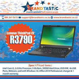 Blazing-fast Lenovo i5 Laptop with 5Gb Ram @ R3790