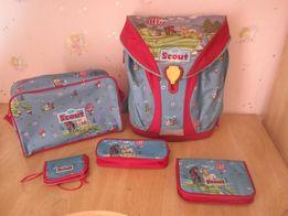 Школьный рюкзак немецкой фирмы 5 в 1