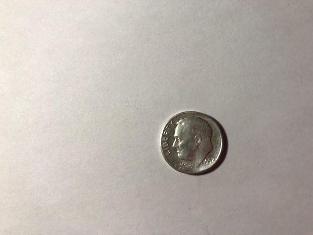 США 10 центов 1952 Рузвельт Киев - изображение 1