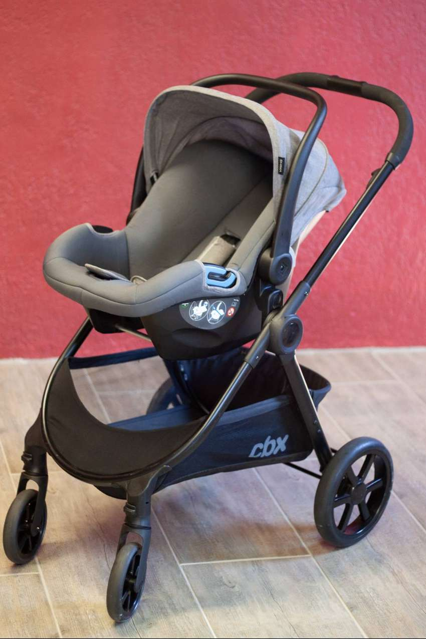 OBX 3-in-1 Travelling system and Isofix plate
