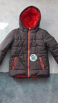 ciepła zimowa kurtka 128-134