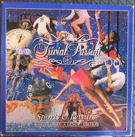 Trivial Pursuit - Sport and Leisure - Master Game - A Genius Edition