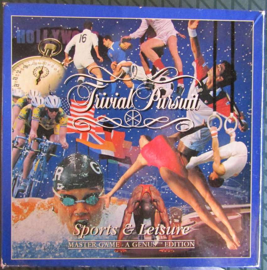 Trivial Pursuit - Sport and Leisure - Master Game - A Genius Edition 0
