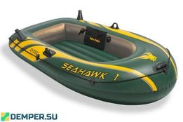 Надувная лодка SEAHAWK 1-местная INTEX, 193x108x38, 3 750 руб