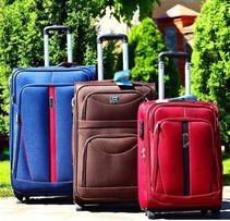 АКЦИЯ НА СКЛАДЕ чемодан валіза сумка дорожная на 2 колёсах тканевый