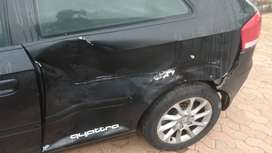 Audi A3 2.0TDI 2006 model with slight accident dent.