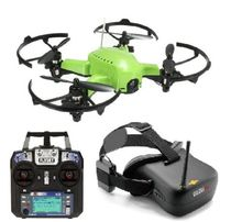 Full zestaw dron wyścigowy + gogle FPV + radio FlySky + Akcesoria acro