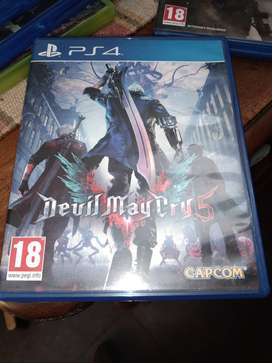 Devil May cry 5 Physical ps4 copy