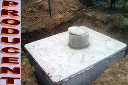 szambo betonowe 8m3 zbiornik szczelny EKO na nieczystości