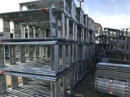 Rusztowanie PLETTAC 77 m2 rusztowania fasadowe