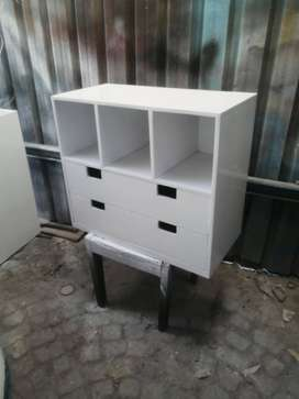 CHEST OF DRAWER SOLID WOO