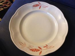 Большое блюдо керамическая тарелка СССР новое