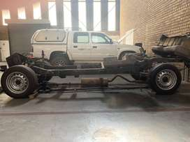 1999 Ford Courier D/C chassis