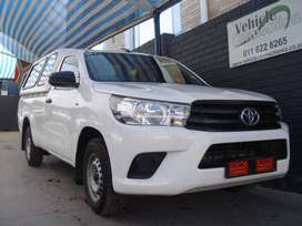 2017 Toyota Hilux 2.4 GD A/C Single Cab Bakkie for sale in Gauteng