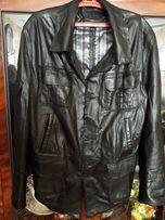 Продам кожаную куртку на высокого парня-рост 195,2 метра