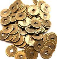 Китайская монета 2 см. 20 шт.