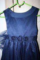 Платье нарядное вечернее на 5-7 лет на выпускной