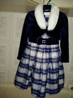 Праздничное платье с болеро