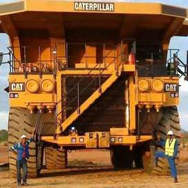 Dump Truck approaved mine training