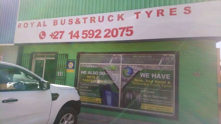 TRUCK TYRES FOR SALE  IN RUSTENBURG  FROM R1 100 0