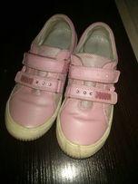 Кожаные кроссовки, мокасины, туфли фирмы BARTEK. Стелька 23 см.
