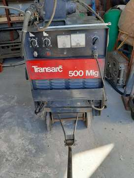 Transarc Mig 500 four wheel drive Co2 welder.