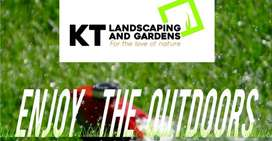 Landscaping, yard cleaning and garden maintenance