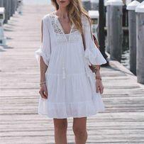 НОВИНКА! Летняя накидка. Пляжный халат. Пляжное платье.