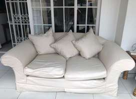 Two Seater Wetherley Couches (2)