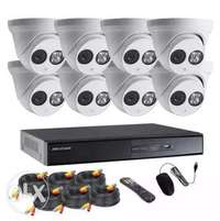 8 night vision cctv cameras complete package Sale 0