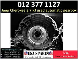Jeep Cherokee 3.7 KJ 2002-07 automatic gearbox for sale