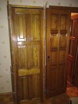 Двери деревянные -лиственница( не шпон)