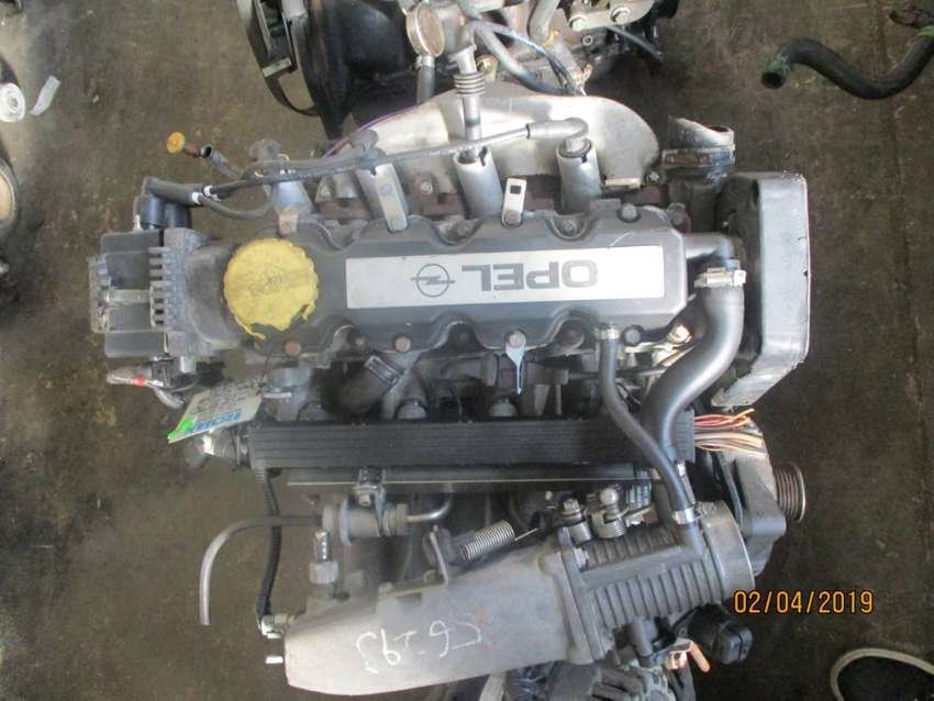 Opel Corsa 1.6 8v low mileage import engine for sale 0