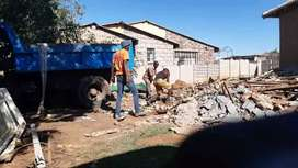 RUBBLE REMOVAL R500 TLB TIPPER TRUCK HIRE