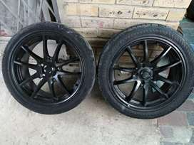 17 rims with tyres R500