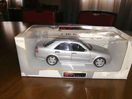 Mercedes C36 amg kit mode car collectable scale 1to1.8 size